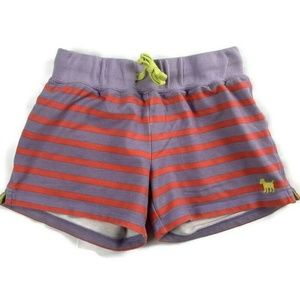 Mini Boden Girls Shorts Striped Toweling ReaD